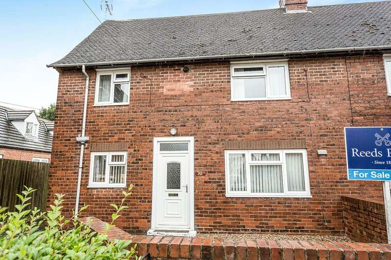 3 Bedrooms Semi Detached House for sale in Heath Road, Holmewood, CHESTERFIELD, S42