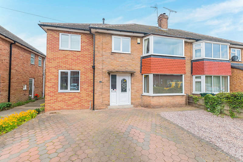 5 Bedrooms Semi Detached House for sale in Middleton Avenue, Dinnington, Sheffield, S25