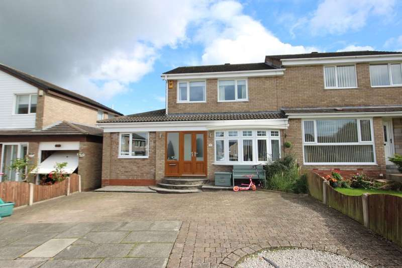 3 Bedrooms Semi Detached House for sale in Chesterholm, Carlisle, CA2