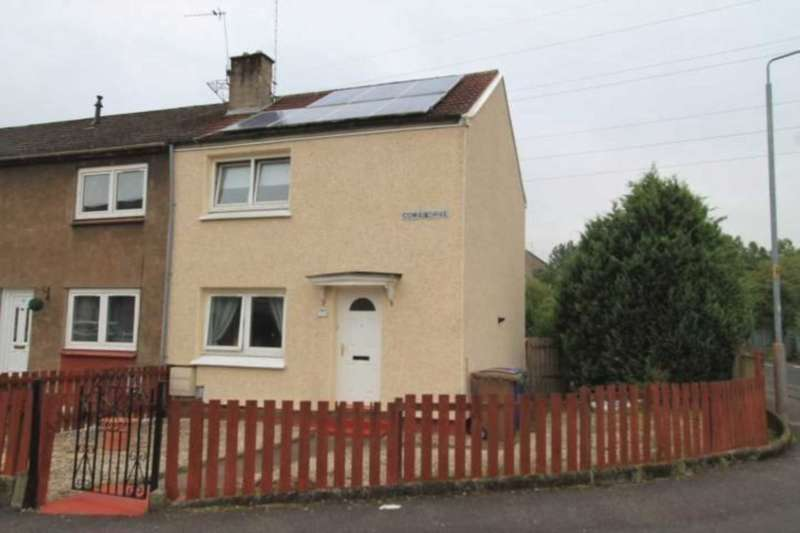 2 Bedrooms End Of Terrace House for sale in Cowal Drive, Linwood