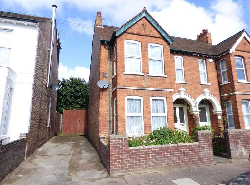 4 Bedrooms Semi Detached House for sale in Campbell Road, Bedford, MK40 3DD