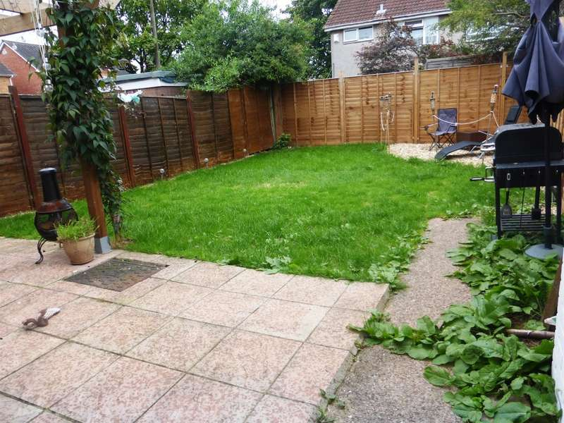 2 Bedrooms Semi Detached House for sale in Trebanog Crescent, Rumney, Cardiff