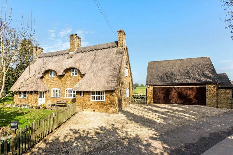 4 Bedrooms Detached House for sale in Main Road, Thenford, Banbury, Oxfordshire, OX17