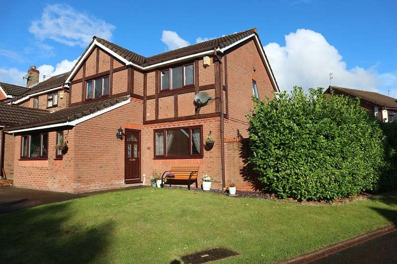 4 Bedrooms Detached House for sale in Bullfinch Court, Liverpool, Merseyside. L26 7WZ