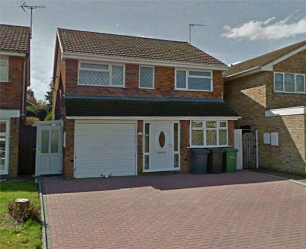 3 Bedrooms Detached House for sale in Oberon Close, Whitestone, Nuneaton, Warwickshire