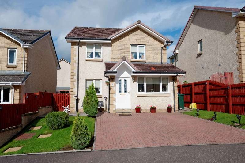 5 Bedrooms Detached Villa House for sale in Dippol Crescent, Auchinleck, Cumnock, East Ayrshire, KA18 2BZ
