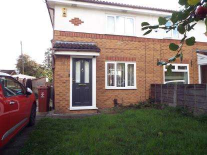 2 Bedrooms Semi Detached House for sale in Blisworth Close, Manchester, Greater Manchester