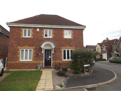 4 Bedrooms Detached House for sale in Cestria Close, Sandbach, Cheshire