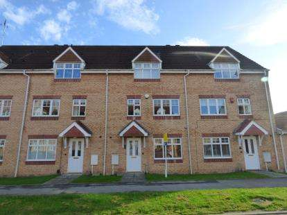 4 Bedrooms Terraced House for sale in Ruby Way, Mansfield, Nottinghamshire