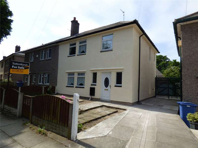 3 Bedrooms Semi Detached House for sale in Wapshare Road, Liverpool, Merseyside, L11