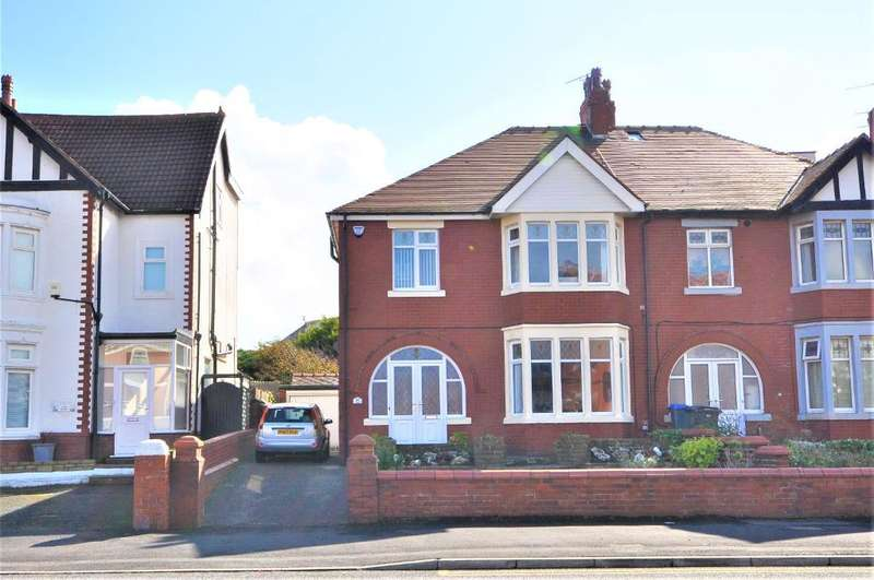 4 Bedrooms Semi Detached House for sale in Warbreck Hill Road, Bispham, Blackpool, Lancashire, FY2 9SS
