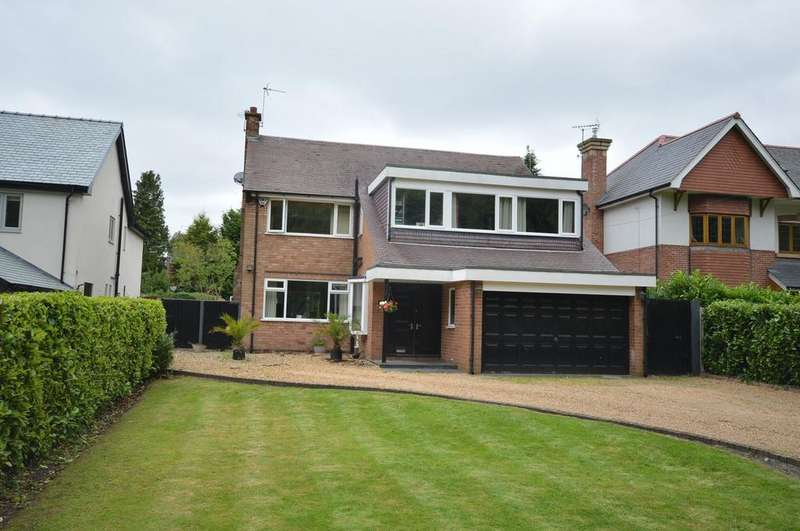 4 Bedrooms Detached House for sale in Lakeside Road, Lymm