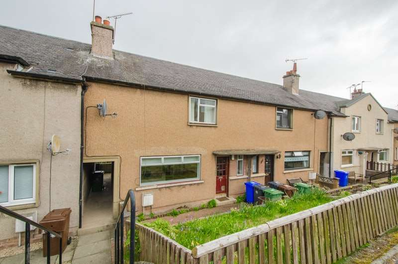 3 Bedrooms Terraced House for sale in CLARK ST, BANNOCKBURN, Clackmannanshire, FK7