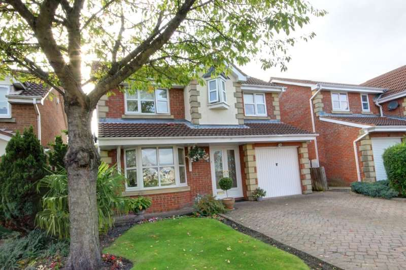 4 Bedrooms Detached House for sale in Granville Drive, Philadelphia, Houghton Le Spring, DH4