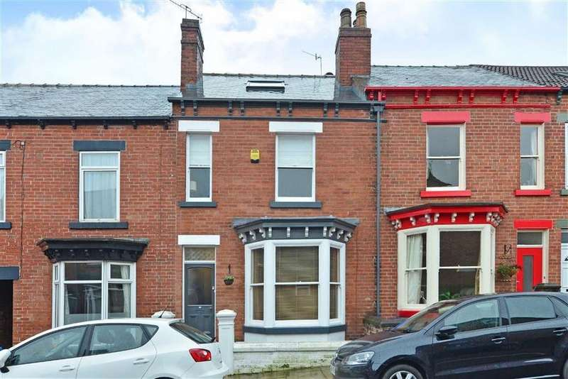 3 Bedrooms Terraced House for sale in 45, Onslow Road, Endcliffe Park, Sheffield, S11