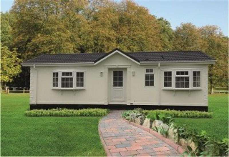 2 Bedrooms Detached Bungalow for sale in Wervin Caravan Park, Wervin, Chester, Chester