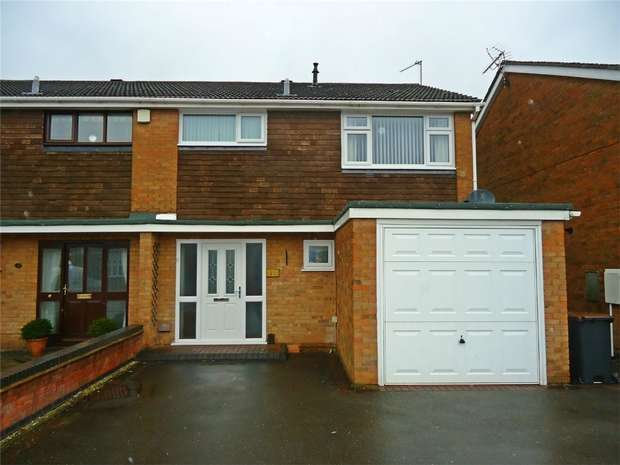 3 Bedrooms Semi Detached House for sale in Chetwynd Drive, Whitestone, Nuneaton, Warwickshire