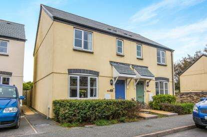 3 Bedrooms Semi Detached House for sale in Camelford, Cornwall, United Kingdom