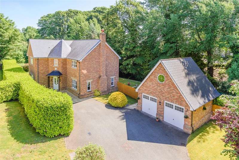 4 Bedrooms Detached House for sale in Silverways Drive, Gobowen, Oswestry, Shropshire