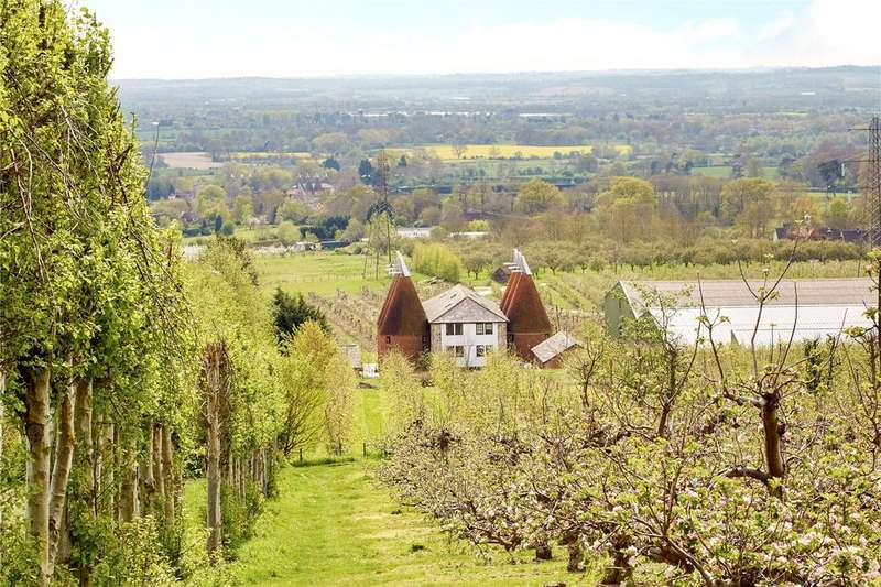 5 Bedrooms House for sale in Amsbury Farm, East Street, Hunton, Kent