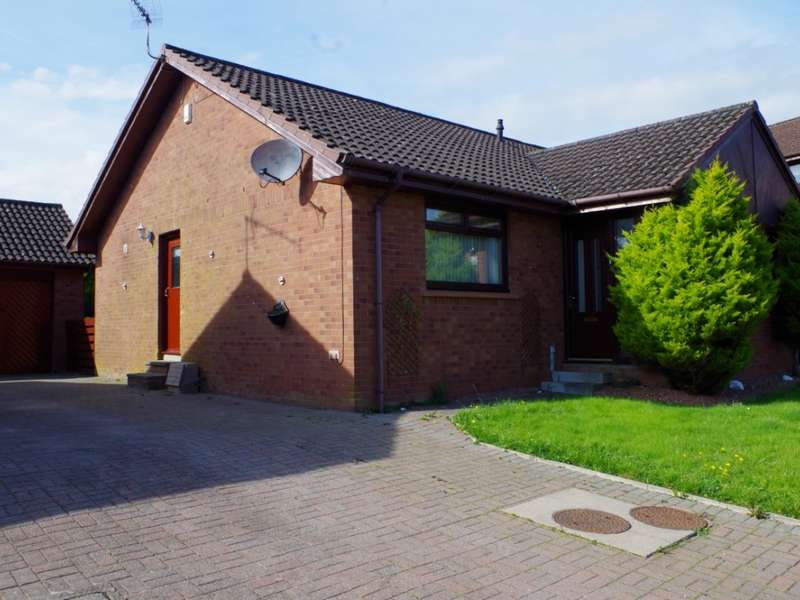 2 Bedrooms Detached Bungalow for sale in 6 Greenlees Court, Dalry, KA24 5DB
