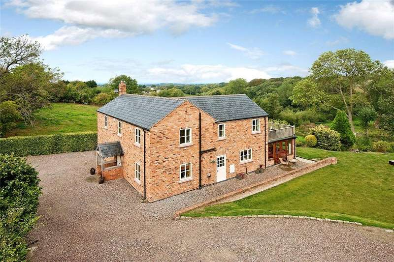 4 Bedrooms Detached House for sale in Tallarn Green, Malpas, Cheshire