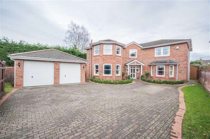 4 Bedrooms Detached House for sale in Wynnstay Lane, Marford, Wrexham, Marford