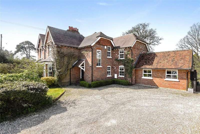 4 Bedrooms Semi Detached House for sale in Crookham Common Road, Brimpton, Reading