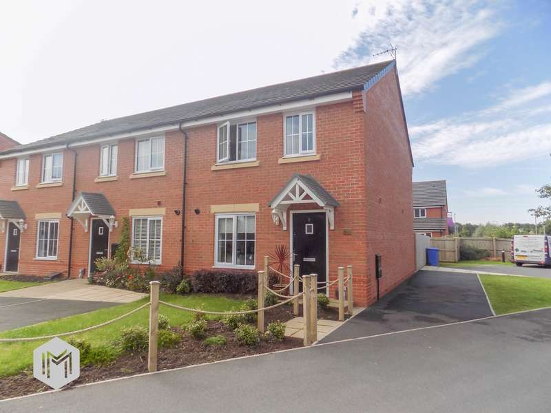 3 Bedrooms End Of Terrace House for sale in Whinfell Close, Leyland, PR25
