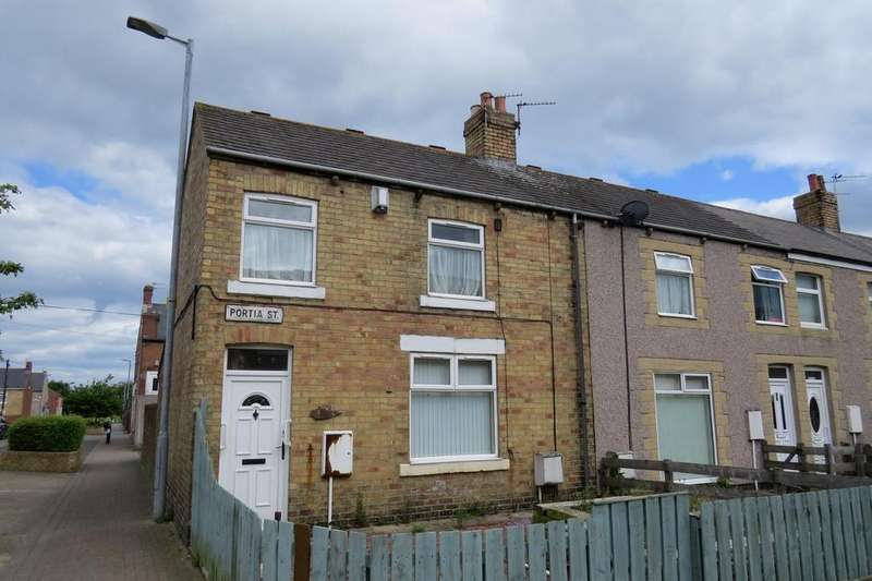 2 Bedrooms Terraced House for sale in Portia Street, Ashington