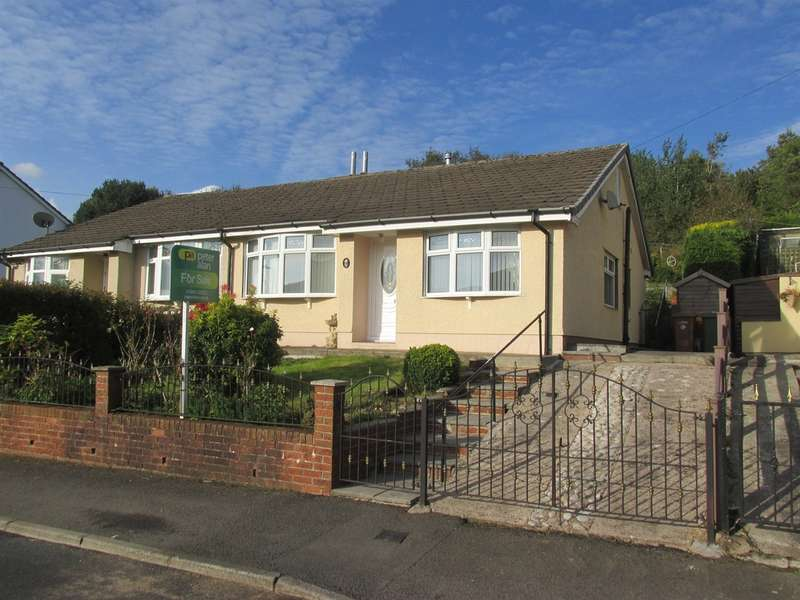 2 Bedrooms Semi Detached Bungalow for sale in Pen Y Cwm, Abertysswg, Tredegar