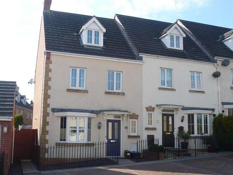 4 Bedrooms End Of Terrace House for sale in Parc Bronhaul , Broadlands, Bridgend. CF31 5EP