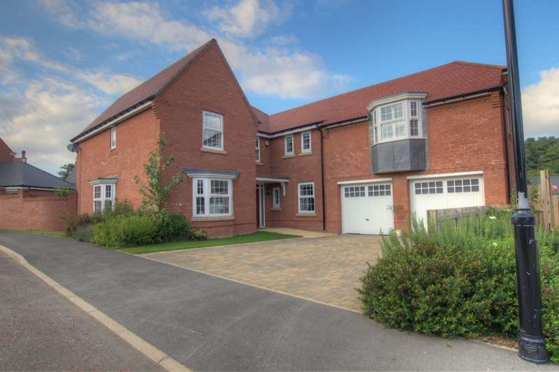 5 Bedrooms Detached House for sale in Wilkinson Walk, Mount Oswald, Durham, DH1