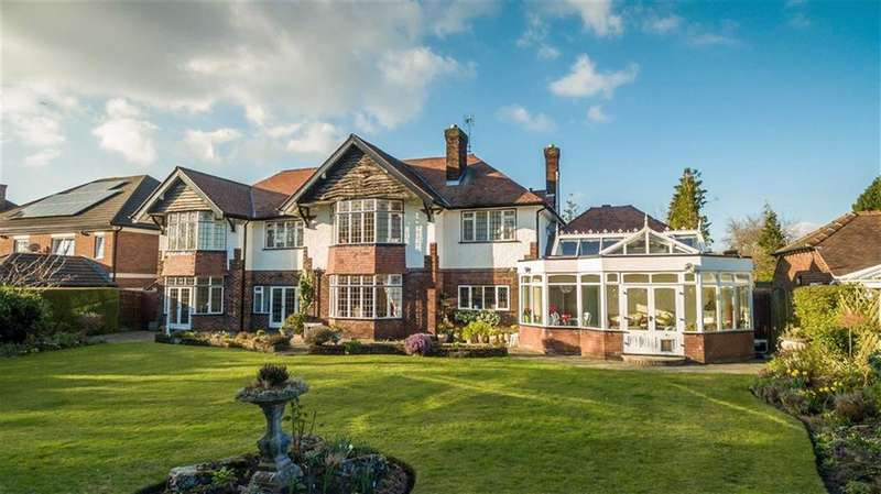 5 Bedrooms Detached House for sale in Manor Road, Bramhall, Cheshire