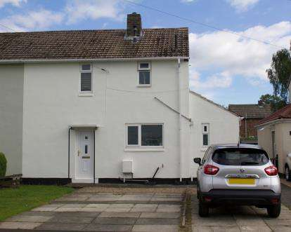 2 Bedrooms Semi Detached House for sale in Crawford Close, Sherburn Village, Durham, County Durham, DH6