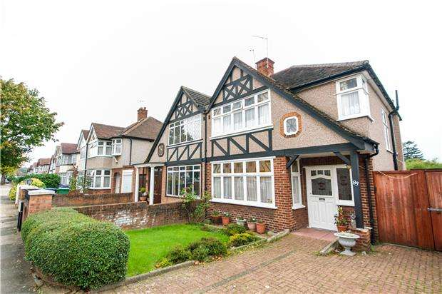 3 Bedrooms Semi Detached House for sale in Crundale Avenue, LONDON, NW9 9PJ