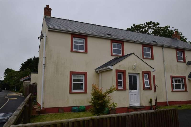 3 Bedrooms Semi Detached House for sale in Johnston, Haverfordwest