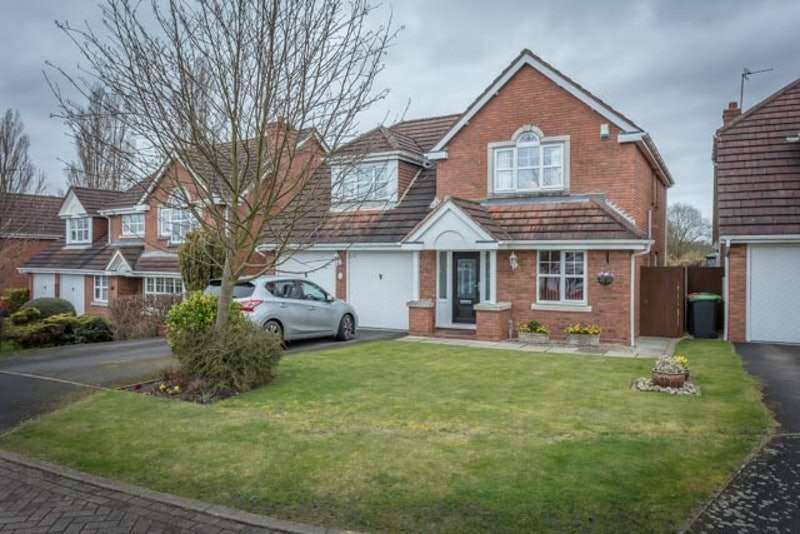4 Bedrooms Detached House for sale in Larch Close, Underwood, Nottinghamshire, NG16