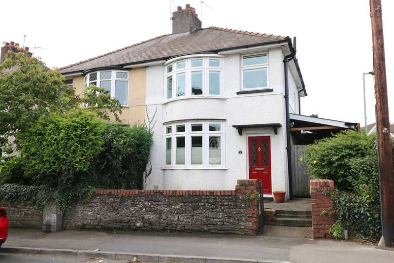 2 Bedrooms Semi Detached House for sale in Mill Street, Caerleon, Newport, NP18