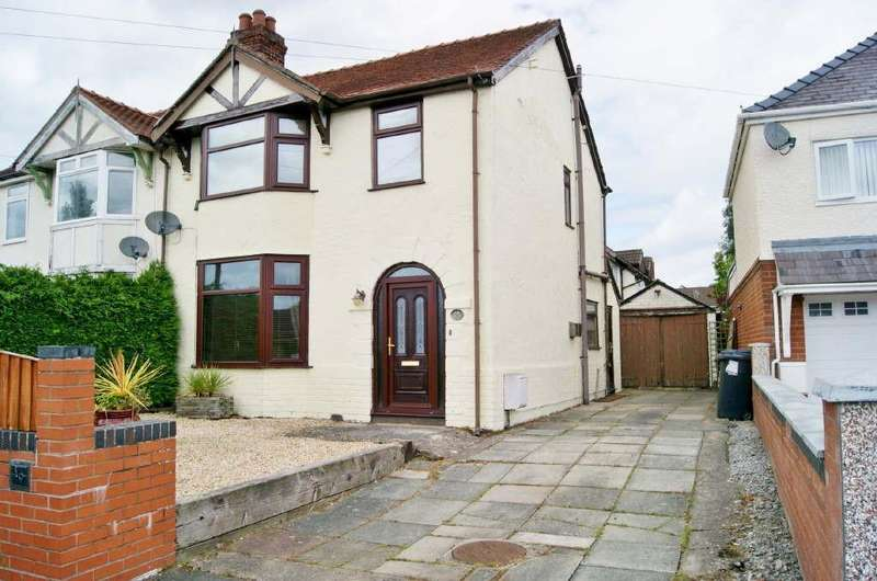 3 Bedrooms Semi Detached House for sale in Little Acton Drive, Wrexham
