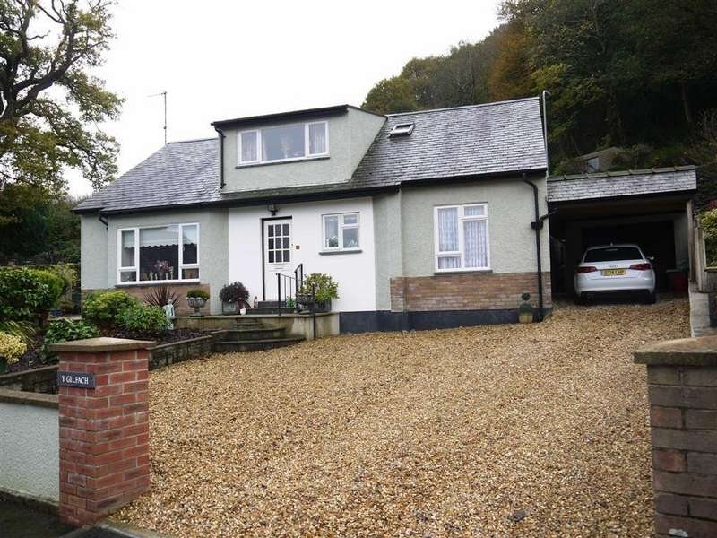 4 Bedrooms Detached House for sale in The Crescent, Porthmadog, Gwynedd