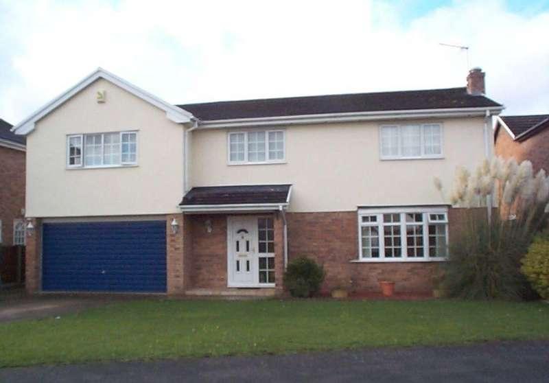 5 Bedrooms Detached House for sale in Ffordd Ystrad, Coed Y Glyn, Wrexham