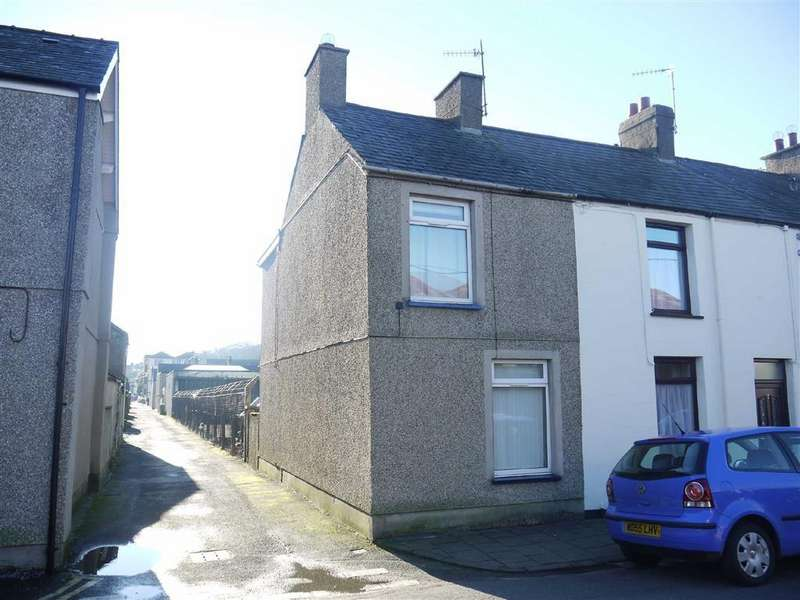 2 Bedrooms End Of Terrace House for sale in Cambrian Terrace, Porthmadog, Gwynedd