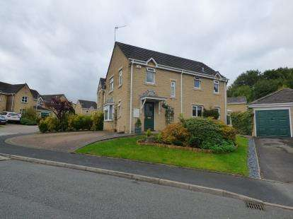 4 Bedrooms Detached House for sale in Printers Fold, Burnley, Lancashire
