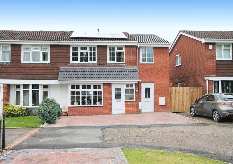 4 Bedrooms Semi Detached House for sale in Cottage Farm Road, Dosthill, Tamworth, B77 1NN