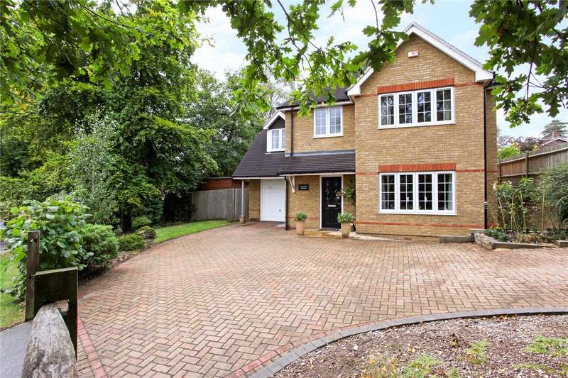 4 Bedrooms Detached House for sale in Long Hill Road, Bracknell, Berkshire, RG12