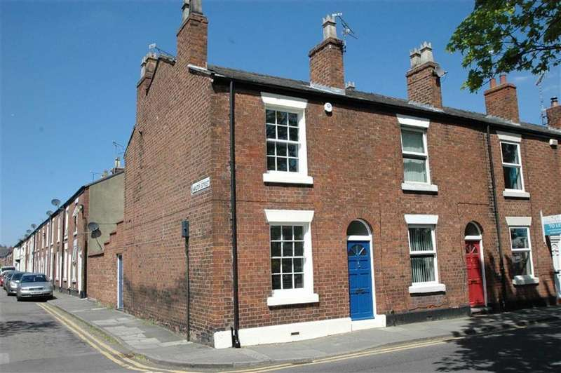 2 Bedrooms End Of Terrace House for sale in St Anne Street, Newtown, Chester