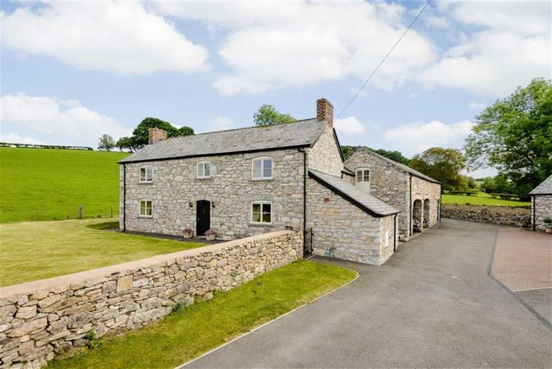 5 Bedrooms Detached House for sale in Llanelidan, Ruthin