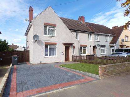 3 Bedrooms End Of Terrace House for sale in Barford Avenue, Bedford, Bedfordshire