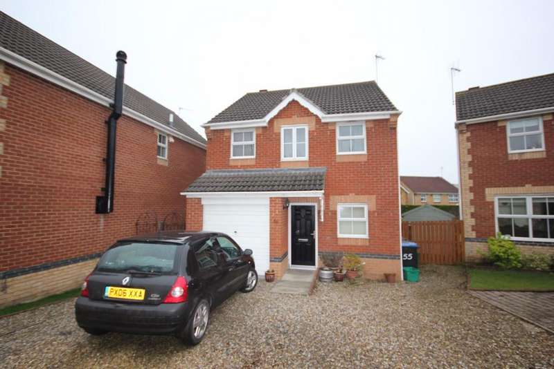 3 Bedrooms Detached House for sale in Inglenook Close, Crook
